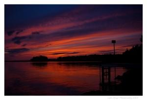 Sunset on wabigoon